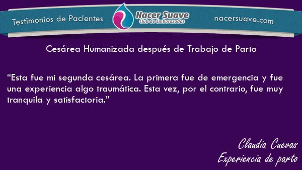 Testominio 7 - Claudia Cuevas