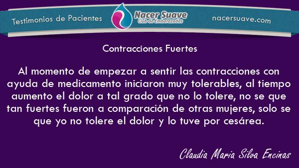 Testimonio 14 - Claudia Maria Silva Encinas